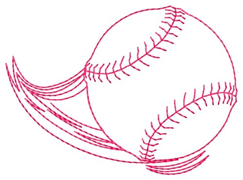 Flying Baseball Embroidery Designs Machine Embroidery Designs At