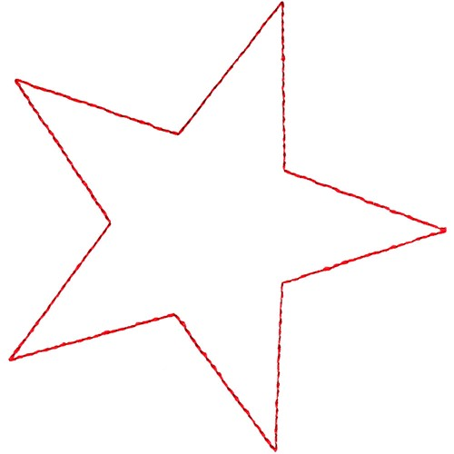Star outline embroidery designs machine embroidery designs at largeimg urmus Gallery