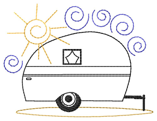 Camper Embroidery Designs Machine Embroidery Designs At