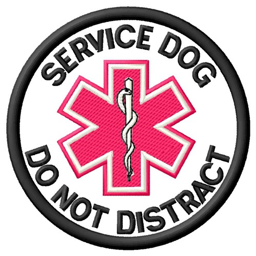 Service Dog Patch Embroidery Designs Machine Embroidery Designs At