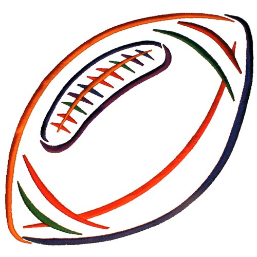 Football Outline Embroidery Designs Machine Embroidery Designs At