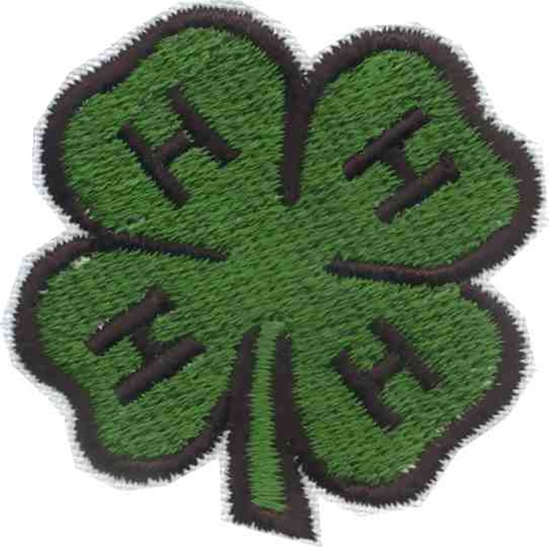 4 H Emblem Embroidery Designs Machine Embroidery Designs At
