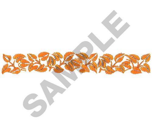 Leaf border embroidery designs machine