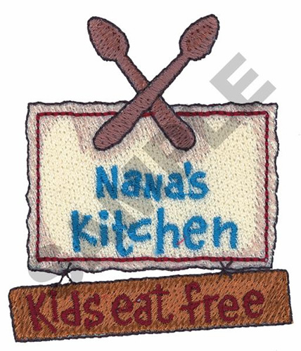 Nanas Kitchen Embroidery Designs Machine Embroidery Designs At