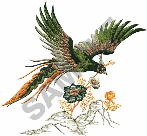 Oriental Bird Embroidery Designs Machine Embroidery Designs At