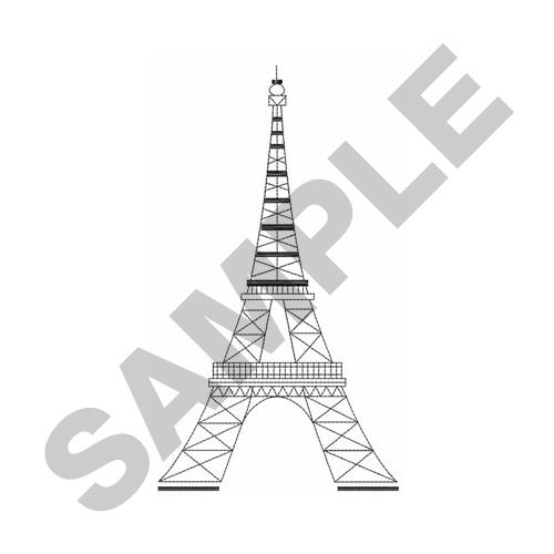 Long Eiffel Tower Embroidery Designs Machine Embroidery Designs At
