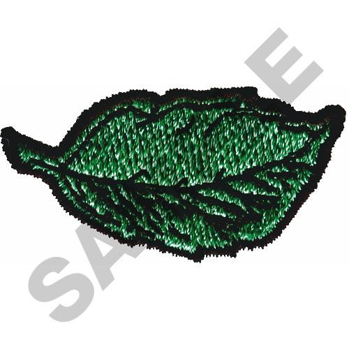 Tobacco leaf embroidery designs machine