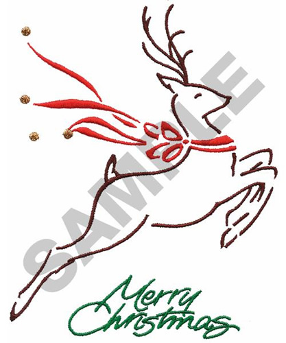 Christmas Reindeer Embroidery Designs Machine Embroidery Designs At