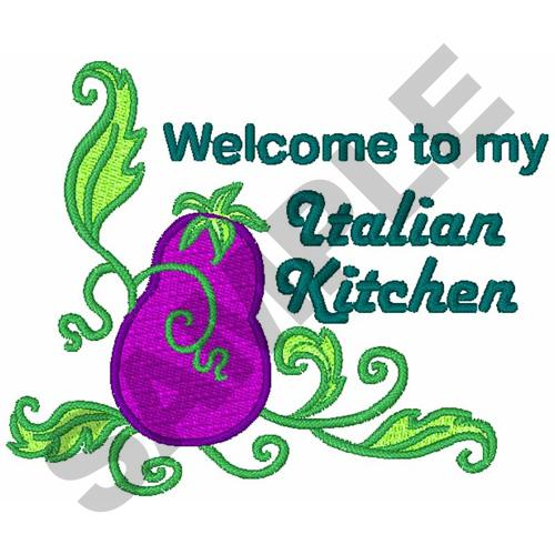 Italian Kitchen Embroidery Designs Machine Embroidery Designs At