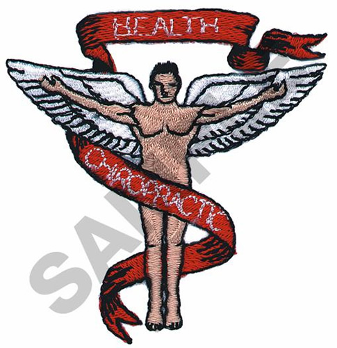 Machine Embroidery Design For Chiropractor