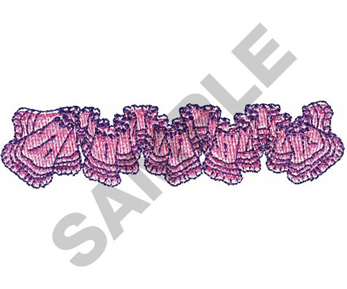 Eyelet lace embroidery designs machine