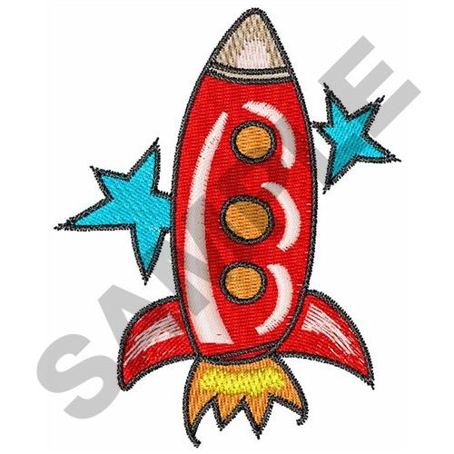 Space rocket embroidery designs machine embroidery for Space embroidery patterns