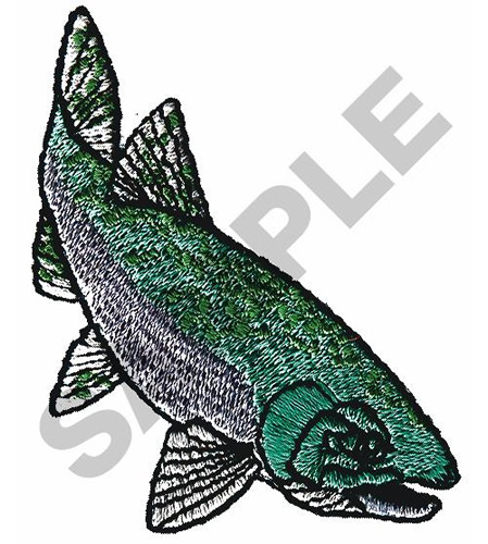 Chinook Salmon Embroidery Designs Machine Embroidery Designs At