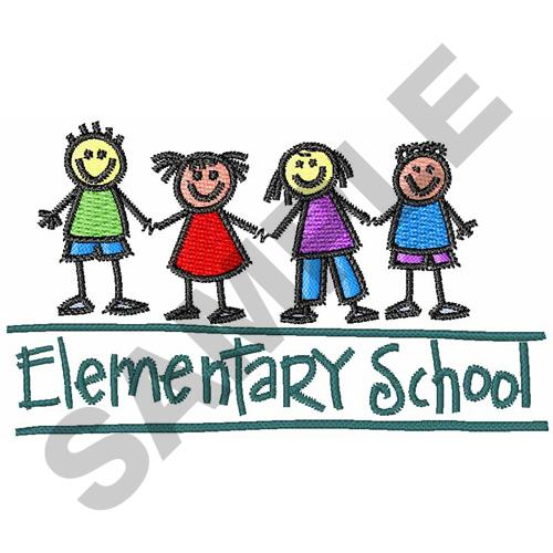 ELEMENTARY SCHOOL Embroidery Designs Machine Embroidery