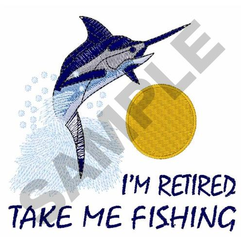 Take me fishing embroidery designs machine embroidery for Take me fishing