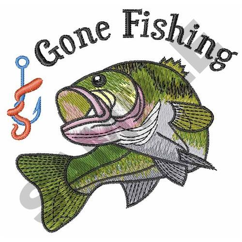 Gone Fishing Embroidery Designs Machine Embroidery Designs At