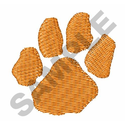 Small Tiger Paw Print Embroidery Designs Machine Embroidery Designs