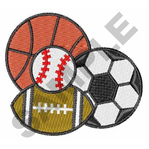 Sports Designs Embroidery 31