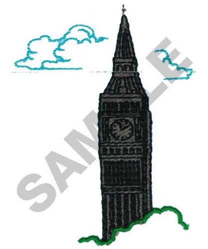 Machine Embroidery Design Big Ben