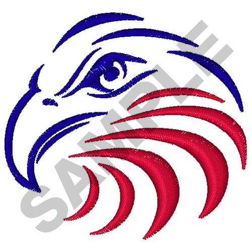 BALD EAGLE HEAD Embroidery Designs, Machine Embroidery Designs at ...
