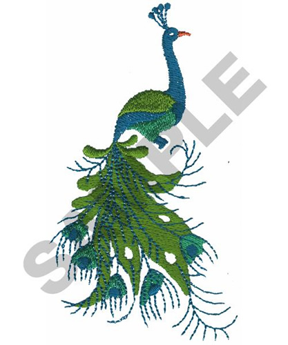 PEACOCK Embroidery Designs Machine Embroidery Designs At