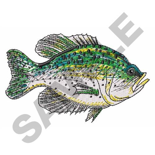 Crappie Fish Embroidery Designs Machine Embroidery Designs At