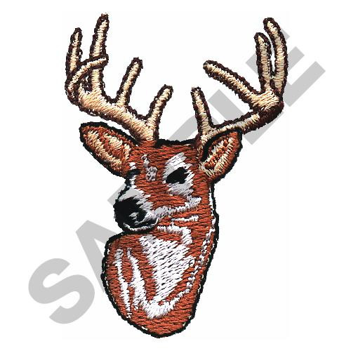 Deer embroidery designs machine at