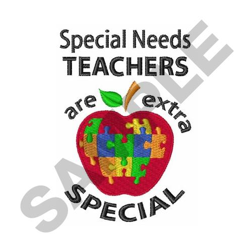 Special Needs Teacher Embroidery Designs Machine Embroidery Designs