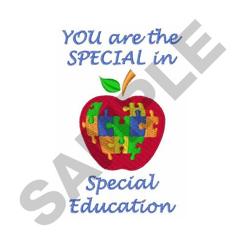 Special Education Embroidery Designs Machine Embroidery Designs At