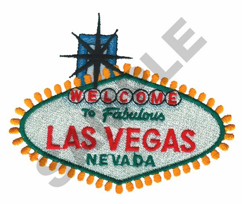 Welcome To Las Vegas Embroidery Designs Machine Embroidery Designs