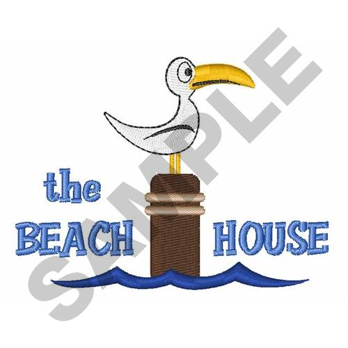 The beach house embroidery designs machine embroidery for Beach house embroidery design