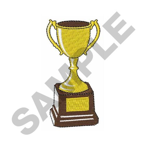 TROPHY CUP Embroidery Designs Machine At