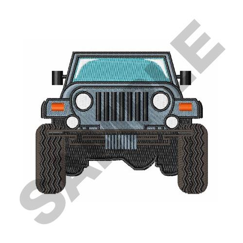 Jeep Front Embroidery Designs Machine Embroidery Designs At