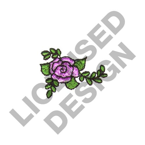 Small rose embroidery designs machine