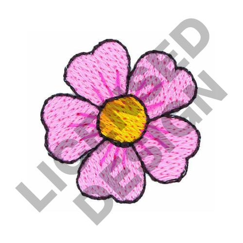 Small flower embroidery designs machine