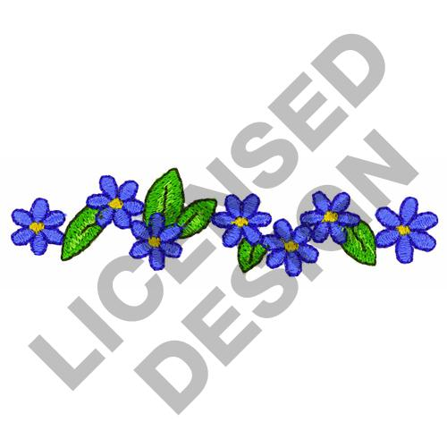 Floral border embroidery designs machine