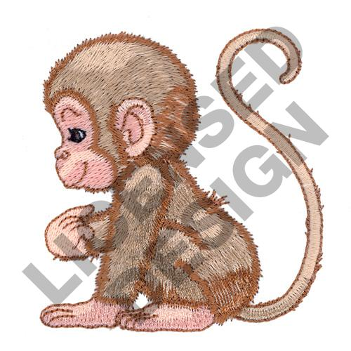 BABY MONKEY Embroidery Designs Machine Embroidery Designs At EmbroideryDesigns.com