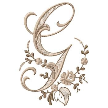 Monogram G Embroidery Designs Machine Embroidery Designs At