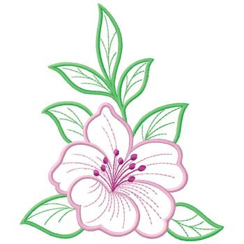 Hibiscus Embroidery Designs Machine Embroidery Designs At