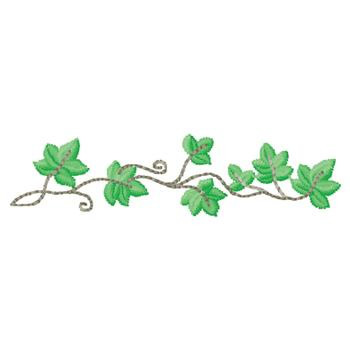 Ivy Embroidery Design