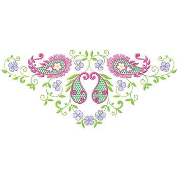 Floral Paisley Embroidery Designs Machine Embroidery Designs At