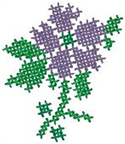 Cross Stitch Flower Embroidery Designs Machine Embroidery Designs