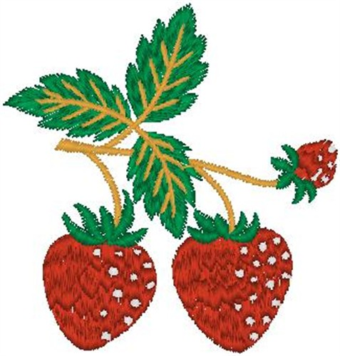 Strawberries Embroidery Designs Machine Embroidery Designs At