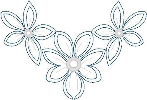 Flowers Outline Embroidery Designs Machine Embroidery Designs At