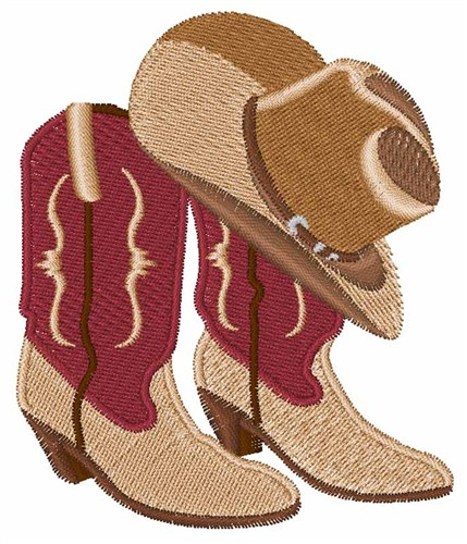 6350397a38d Hat   Boots Embroidery Designs