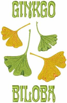 Ginkgo Biloba Embroidery Designs Machine Embroidery Designs At