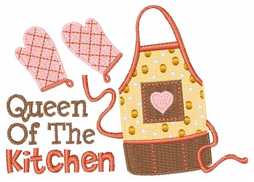 Kitchen Queen Embroidery Designs Machine Embroidery Designs At