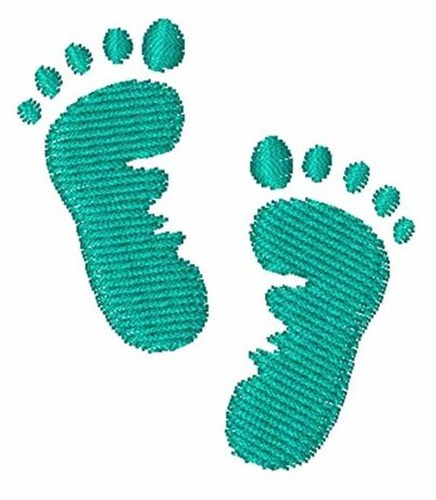 baby feet embroidery designs machine embroidery designs at. Black Bedroom Furniture Sets. Home Design Ideas