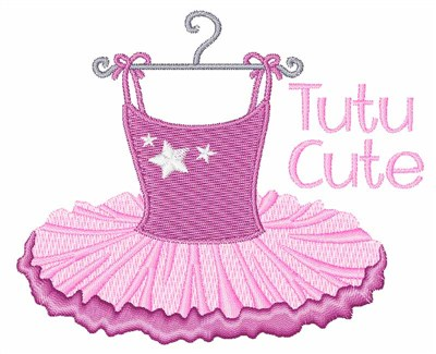 Tutu Cute Embroidery Designs Machine Embroidery Designs At