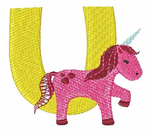 Animal alphabet u embroidery designs machine